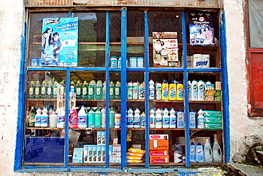 Specialty store for detergents, Eastern Anatolia, Turkey