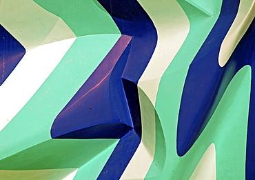 Sculptura 2001, art object by Vesna Kovacic, Ulm, Baden-Wuerttemberg, Germany