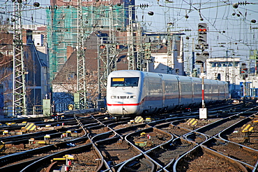 ICE 2 train, Cologne, North Rhine-Westphalia, Germany, Europe