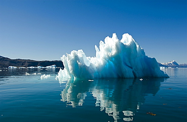 Iceberg near Narsarsuaq, Southern Greenland, North Atlantic