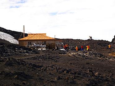 Shackleton's Hut at Cape Royds, Ross Island, Antarctica