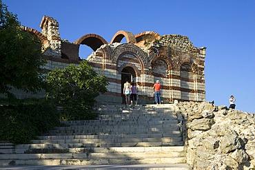 St. John Aliturghetos church, town museum Nesebar, Black Sea, Bulgaria