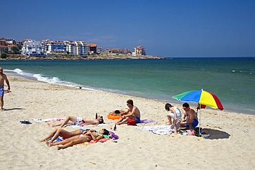 Beach near Sosopol, Black Sea, Bulgaria