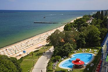 Golden Beach, Zlatni Pjasuci, Black Sea, Bulgaria