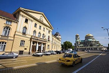 Bulgarian Academy of Sciences, Saint Alexander Nevski Cathedral, Sofia, Bulgaria