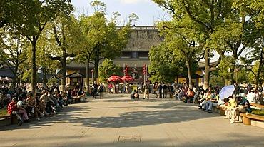 Am Xuanmiao Guan Temple, Suzhou, China, Asia