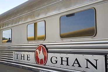 The Ghan Train at the station, Adelaide, South Australia, Australia