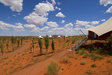 Ayers Rock Resort Hotel Longitude 131, luxury camp at the Ayers Rock, Yulara, Northern Territory, Australia