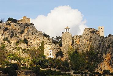 El Castell de Guadalest, Alicante, Spain
