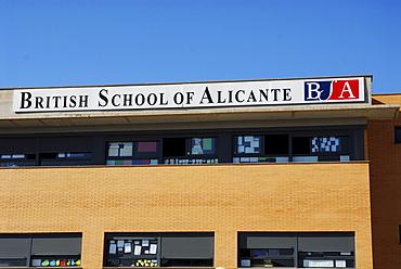British School of Alicante, Alicante, Costa Blanca, Valencia, Spain