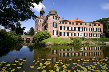 Castle and chateau park, Eutin, Schleswig-Holstein, Germany