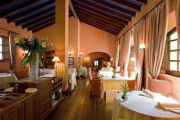 La Alquería, Restaurant, Hacienda Benazuza, Elbulli hotel, Sanlucar la Mayor, Province Sevilla, Andalucia, Spain