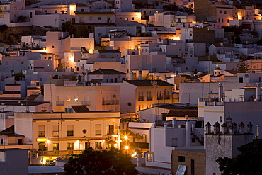 Arcos de la Frontera, village situated on top of a plateau in Andalusia, Spain, Europe