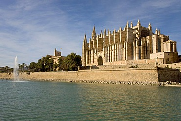 La Seu Cathedral, Palma, Majorca, Balearic Islands, Spain