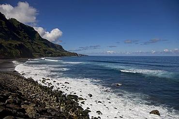 Playa del Socorro beach on the north side of Tenerife, Canary Islands, Spain