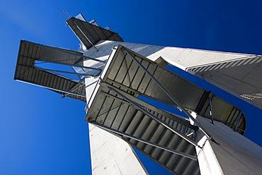 Lookout tower on Mt. Kleeberg, East Styria, Austria