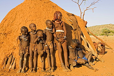 Himbachilds, Kaokoveld, Namibia, Africa