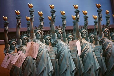 Souvenirs of the Statue of Liberty, Liberty Island, New York City, New York, United States, North America