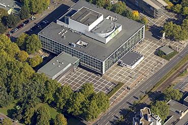 Aerial view, MIR Musiktheater music theatre, Ruhr area, Gelsenkirchen, Ruhr area, North Rhine-Westphalia, Germany, Europe