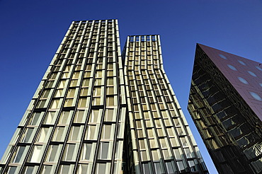 Dancing Towers office building on the Reeperbahn in St. Pauli, Hamburg, Germany, Europe