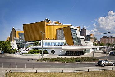 Berliner Philharmonie, Berlin Philharmonic, Kulturforum, cultural forum, Tiergarten district, Berlin, Germany, Europe