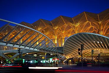Gare do Oriente, Orient train station, Parque das Naçoes, Park of the Nations, Lisbon, Portugal, Europe