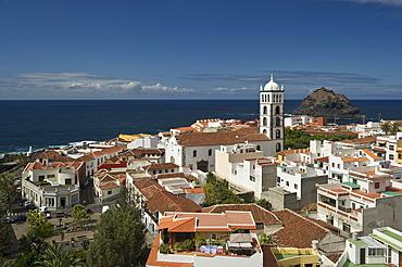 View of Garachico, Tenerife, Canary Islands, Spain, Europe
