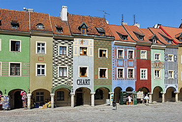 Old Town Square, Stary Rynek, Pozn√°n, Poland, Europe