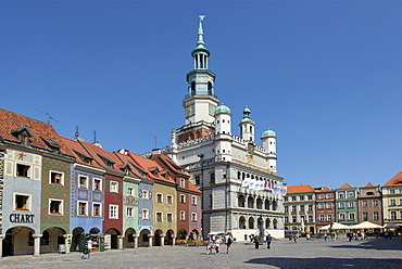 Hall, Old Town Square, Stary Rynek, Pozn√°n, Poland, Europe