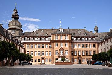 Schloss Berleburg Castle, Bad Berleburg, Wittgensteiner Land district, Sauerland region, North Rhine-Westphalia, Germany, Europe