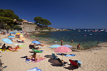 Beach of Calella de Palafrugell, Costa Brava, Catalonia, Spain, Europe, PublicGround