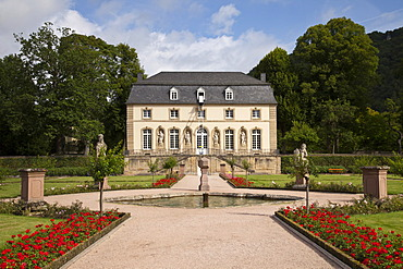 Orangery of the former Abbey of St. Willibrord, Echternach, Luxembourg, Europe
