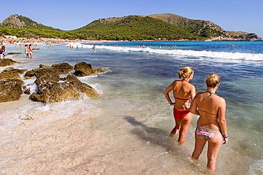 Majorca, Cala Rajada, Cala Agulla beach