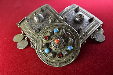 Amulet in the museum of the Palace of the Shirvanshahs from the 14th century, Baku, Azerbaijan, Caucasus, Middle East, Asia