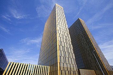 Office towers of the European Court of Justice, ECJ, European quarter, Kirchberg plateau, Luxembourg City, Europe, PublicGround