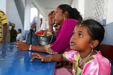 Girls at a Hindu Festival in Georgetown, Guyana, South Amerika