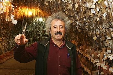 Hair museum, pottery Chez Galip, Avanos, Cappadocia, Turkey