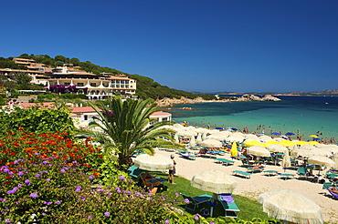 Beach, Porto Cervo, Sardinia, Italy, Europe