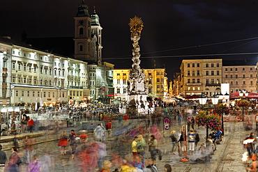 Pflasterspektakel street art festival, Hauptplatz square, Linz, Upper Austria, Austria, Europe, PublicGround