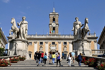 Capitoline Museums in Rome, Italy, Europe