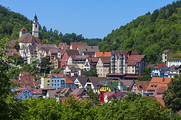 Horb am Neckar, Black Forest, Baden-Wuerttemberg, Germany, Europe, PublicGround