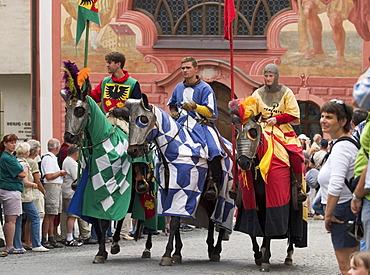 Emporer festival in Füssen - Fuessen - Bavaria Germany