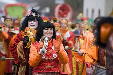 Chinese carnival ( Chinesenfasching ) in Dietfurt an der Altmühl - Upper Palatinate Bavaria Germany