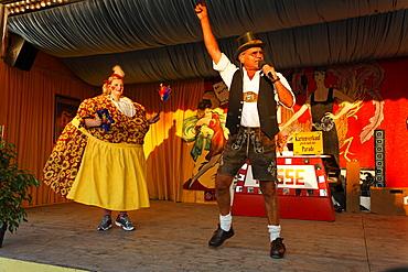Oktoberfest, Variete Schichtl, Munich beer festival, Bavaria, Germany
