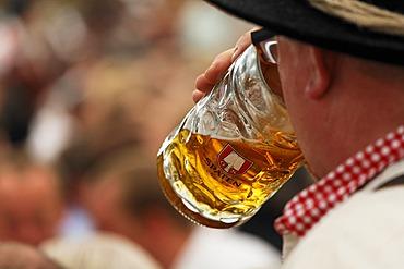 Spaten beer, Oktoberfest, Munich beer festival, Bavaria, Germany