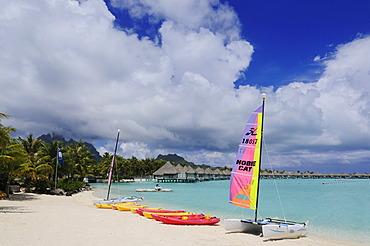 St. Regis Bora Bora Resort, Bora Bora, Leeward Islands, Society Islands, French Polynesia, Pacific Ocean