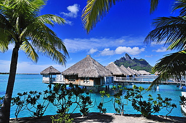 St. Regis Bora Bora Resort, Bora Bora, Leeward Islands, Society Islands, French Polynesia, Pacific Ocean