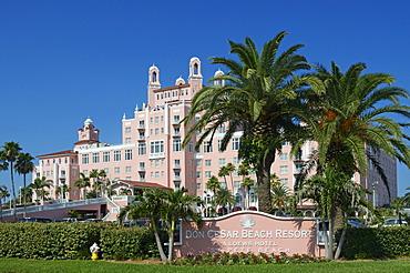 Don Cesar Beach Resort, St. Pete's Beach, Saint Petersburg, Florida, USA