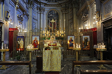 Santi Vincenzo e Anastasio, Church of Saints Vincent and Anastasius, Rome, Italy, Europe