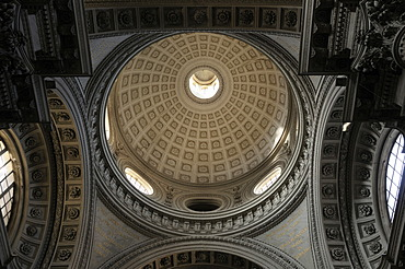 Interior view, dome, Church of Santa Maria in Campitelli, Rome, Italy, Europe